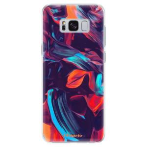 Plastové pouzdro iSaprio Barevný mramor 19 na mobil Samsung Galaxy S8 Plus
