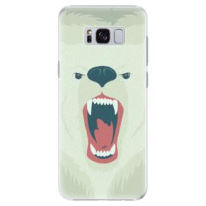 Plastové pouzdro iSaprio Angry Bear na mobil Samsung Galaxy S8 Plus