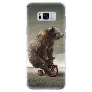 Plastové pouzdro iSaprio Bear 01 na mobil Samsung Galaxy S8 Plus