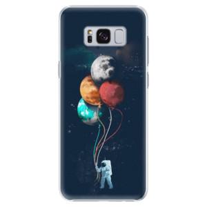 Plastové pouzdro iSaprio Balloons 02 na mobil Samsung Galaxy S8 Plus