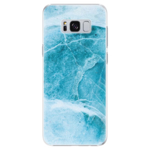 Plastové pouzdro iSaprio Blue Marble na mobil Samsung Galaxy S8 Plus