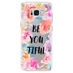 Plastové pouzdro iSaprio BeYouTiful na mobil Samsung Galaxy S8 Plus
