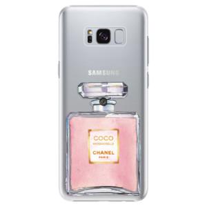 Plastové pouzdro iSaprio Chanel Rose na mobil Samsung Galaxy S8 Plus
