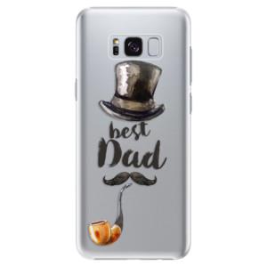 Plastové pouzdro iSaprio Best Dad na mobil Samsung Galaxy S8 Plus