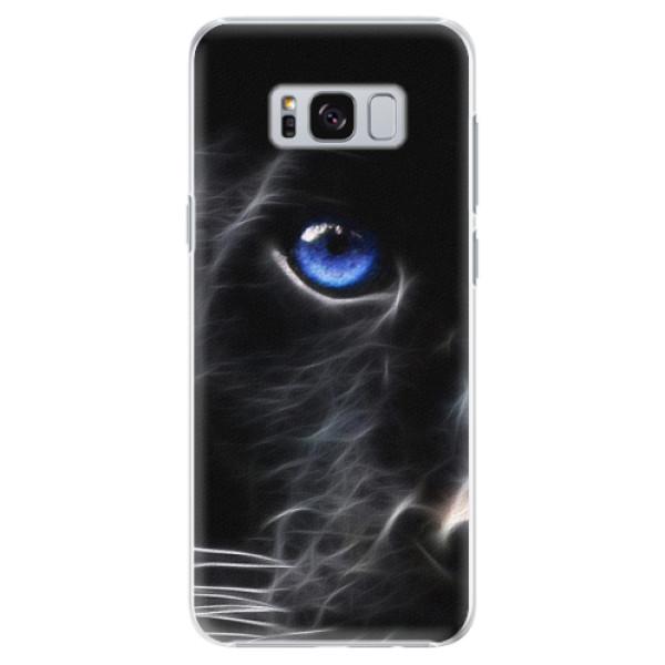 Plastové pouzdro iSaprio black Puma na mobil Samsung Galaxy S8 Plus (Plastový obal, kryt, pouzdro iSaprio black Puma na mobilní telefon Samsung Galaxy S8 Plus)