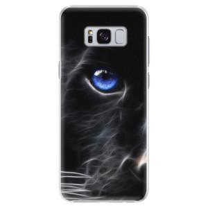 Plastové pouzdro iSaprio black Puma na mobil Samsung Galaxy S8 Plus