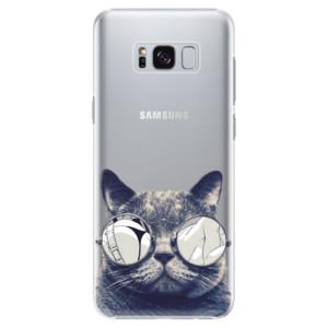 Plastové pouzdro iSaprio Šílená Číča 01 na mobil Samsung Galaxy S8 Plus