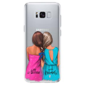 Plastové pouzdro iSaprio Best Friends na mobil Samsung Galaxy S8 Plus