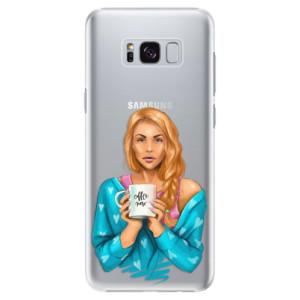 Plastové pouzdro iSaprio Coffee Now Zrzka na mobil Samsung Galaxy S8 Plus