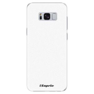 Plastové pouzdro iSaprio 4Pure bílé na mobil Samsung Galaxy S8 Plus