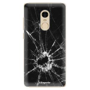 Plastové pouzdro iSaprio Broken Glass 10 na mobil Xiaomi Redmi Note 4