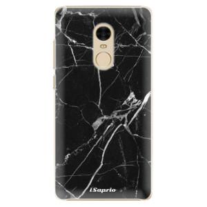 Plastové pouzdro iSaprio black Marble 18 na mobil Xiaomi Redmi Note 4