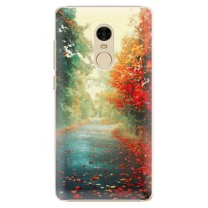 Plastové pouzdro iSaprio Autumn 03 na mobil Xiaomi Redmi Note 4