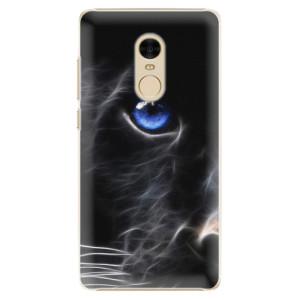 Plastové pouzdro iSaprio black Puma na mobil Xiaomi Redmi Note 4