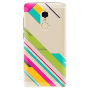 Plastové pouzdro iSaprio Barevné Pruhy 03 na mobil Xiaomi Redmi Note 4