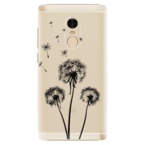 Plastové pouzdro iSaprio Tři Černé Pampelišky na mobil Xiaomi Redmi Note 4