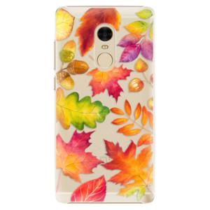 Plastové pouzdro iSaprio Autumn Leaves 01 na mobil Xiaomi Redmi Note 4