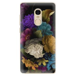 Plastové pouzdro iSaprio Temné Květy na mobil Xiaomi Redmi Note 4