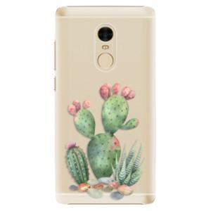 Plastové pouzdro iSaprio Kaktusy 01 na mobil Xiaomi Redmi Note 4