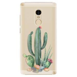 Plastové pouzdro iSaprio Kaktusy 02 na mobil Xiaomi Redmi Note 4