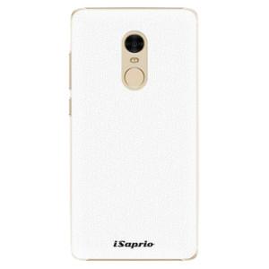 Plastové pouzdro iSaprio 4Pure bílé na mobil Xiaomi Redmi Note 4