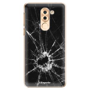 Plastové pouzdro iSaprio Broken Glass 10 na mobil Huawei Honor 6X