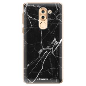 Plastové pouzdro iSaprio black Marble 18 na mobil Huawei Honor 6X