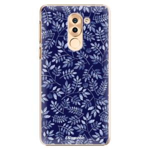 Plastové pouzdro iSaprio Blue Leaves 05 na mobil Huawei Honor 6X