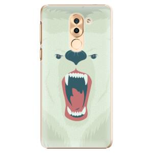 Plastové pouzdro iSaprio Angry Bear na mobil Huawei Honor 6X