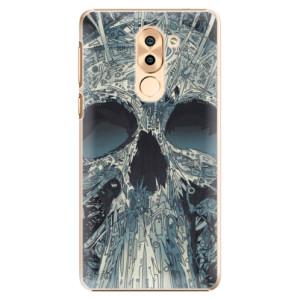 Plastové pouzdro iSaprio Abstract Skull na mobil Huawei Honor 6X