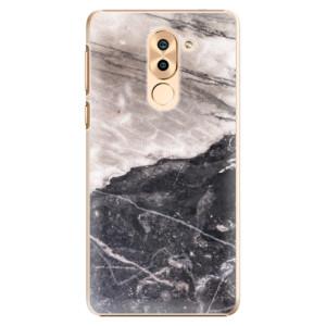 Plastové pouzdro iSaprio BW Marble na mobil Huawei Honor 6X