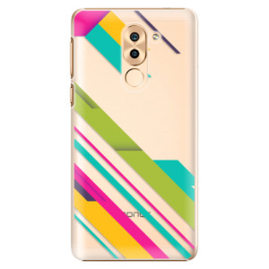 Plastové pouzdro iSaprio Barevné Pruhy 03 na mobil Honor 6X