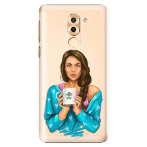 Plastové pouzdro iSaprio Coffee Now Brunetka na mobil Honor 6X