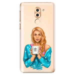 Plastové pouzdro iSaprio Coffee Now Zrzka na mobil Honor 6X