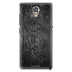Plastové pouzdro iSaprio black Wood 13 na mobil Lenovo P2