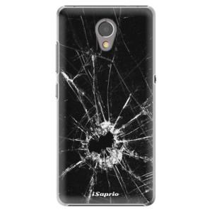 Plastové pouzdro iSaprio Broken Glass 10 na mobil Lenovo P2