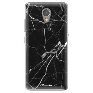 Plastové pouzdro iSaprio black Marble 18 na mobil Lenovo P2
