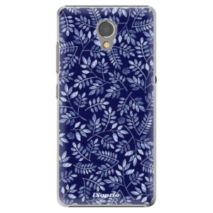 Plastové pouzdro iSaprio Blue Leaves 05 na mobil Lenovo P2