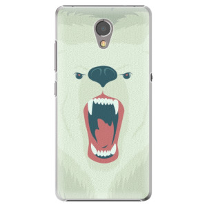 Plastové pouzdro iSaprio Angry Bear na mobil Lenovo P2