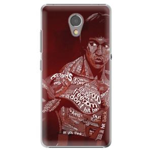Plastové pouzdro iSaprio Bruce Lee na mobil Lenovo P2