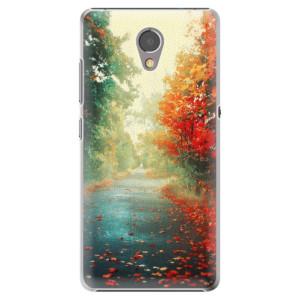 Plastové pouzdro iSaprio Autumn 03 na mobil Lenovo P2