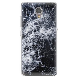 Plastové pouzdro iSaprio Praskliny na mobil Lenovo P2