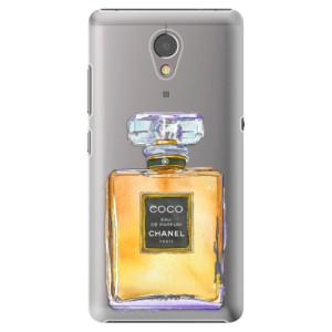 Plastové pouzdro iSaprio Chanel Gold na mobil Lenovo P2