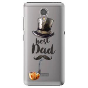 Plastové pouzdro iSaprio Best Dad na mobil Lenovo P2