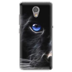 Plastové pouzdro iSaprio black Puma na mobil Lenovo P2