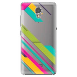 Plastové pouzdro iSaprio Barevné Pruhy 03 na mobil Lenovo P2