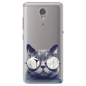 Plastové pouzdro iSaprio Šílená Číča 01 na mobil Lenovo P2