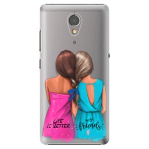Plastové pouzdro iSaprio Best Friends na mobil Lenovo P2