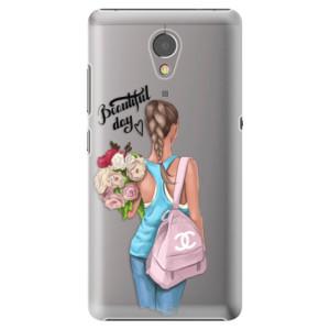Plastové pouzdro iSaprio Beautiful Day na mobil Lenovo P2
