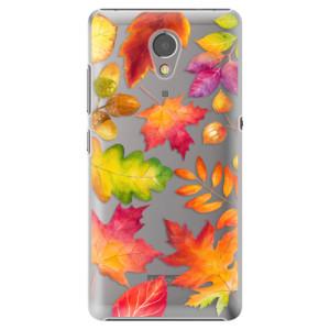 Plastové pouzdro iSaprio Autumn Leaves 01 na mobil Lenovo P2